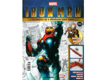 Figurka - stavebnice: IRON MAN #044 (časopis s přílohou)