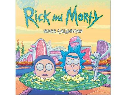 Kalendář 2022: Rick and Morty