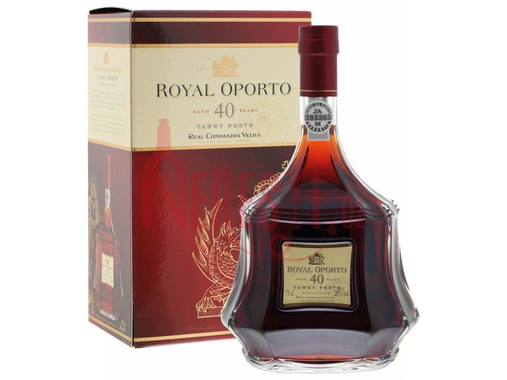 Royal Oporto 0,75 l 40 let krabička