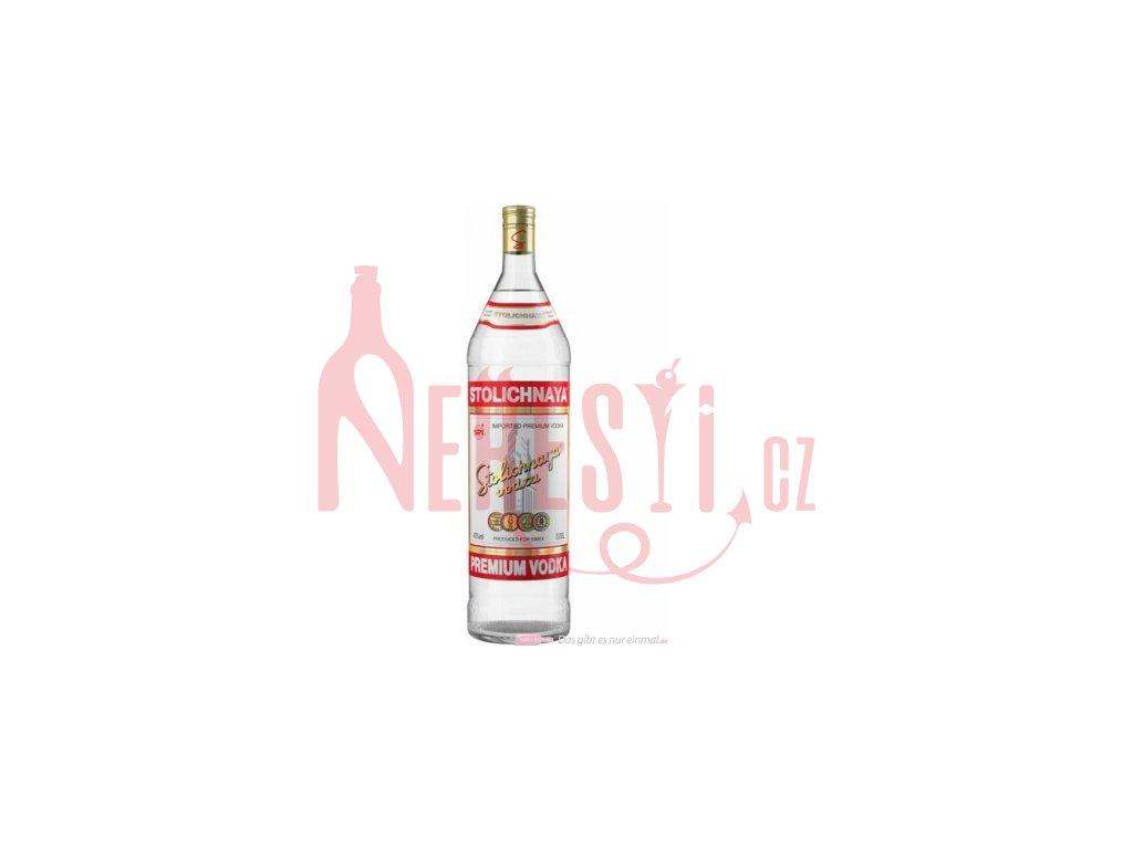 Vodka Stolichnaya 40% 3 l