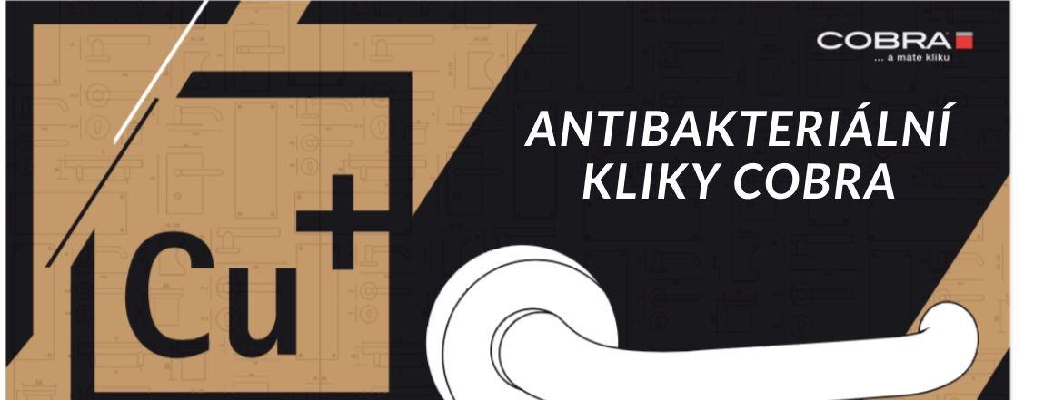 Antibakteriální kliky Cobra