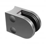 Držák skla 50x40mm pro kulatý slupek