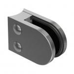 Držák skla 63x45mm pro kulatý slupek
