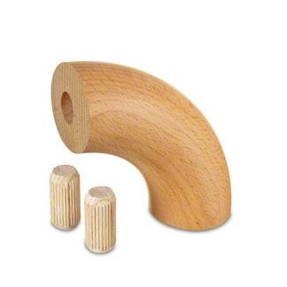 Dřevěná kolena zábradlí