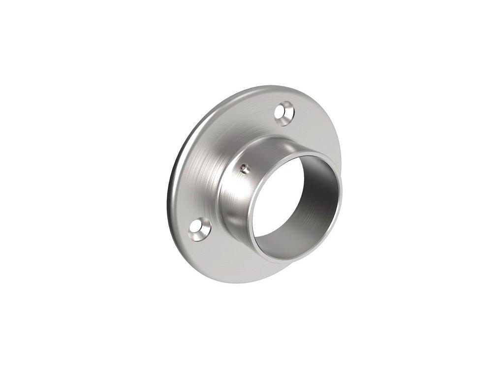 nástěnná příruba pro trubku pr. 42,4mm nerezová ocel aisi 304