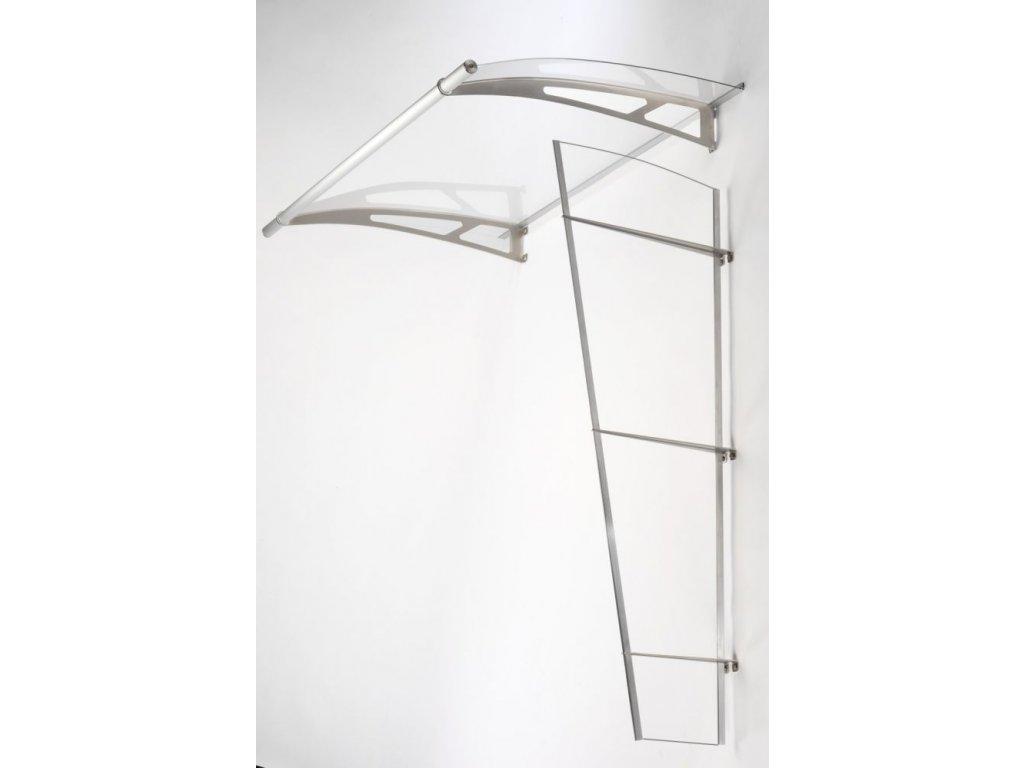 Boční stěna Lightline XL z průhledného akrylového skla