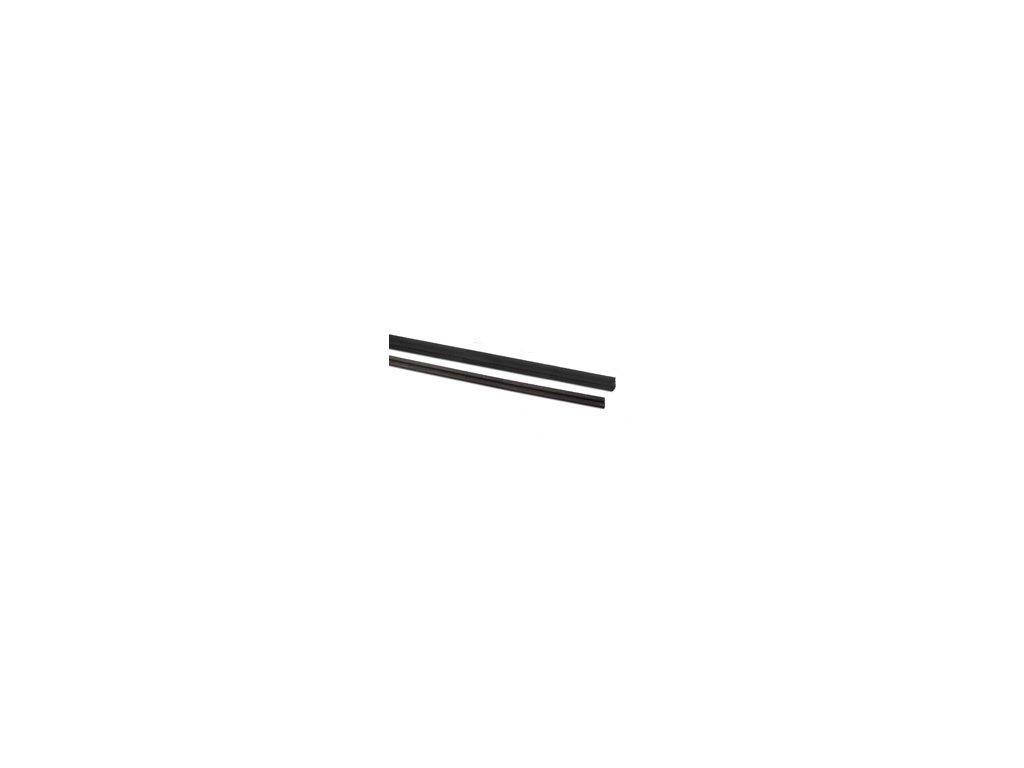 Tesnění pro sklo T=17,52mm pro profil