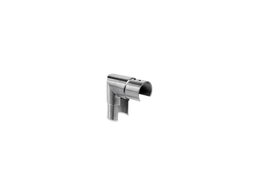 Nerezová spojka madla - koleno 90st. 42,4mm