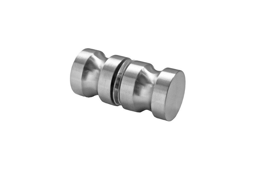 Madlo pro skleněné dvere AISI 304, K320, 32mm