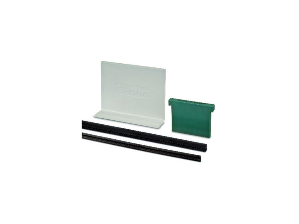 Sada klínů a těsnění pro Easy Glass ECO profily, délka: 25000m
