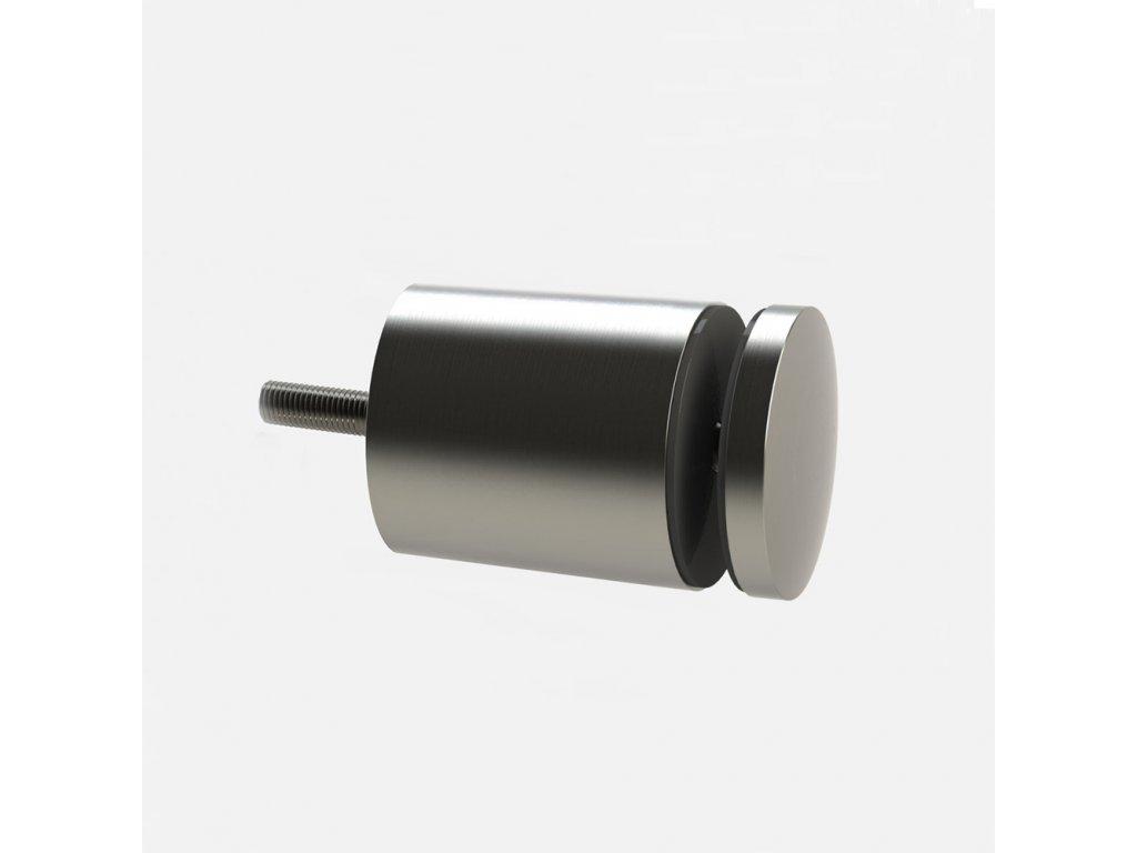 Bodový držák skla Ø40 mm, pro profil, distanc 40mm, AISI 304 brus