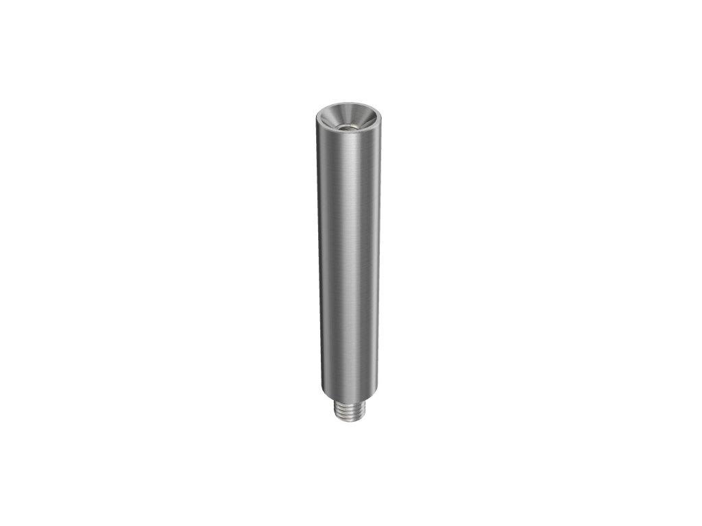 Krček podpěry madla, výška 75 mm, závit M8/M6