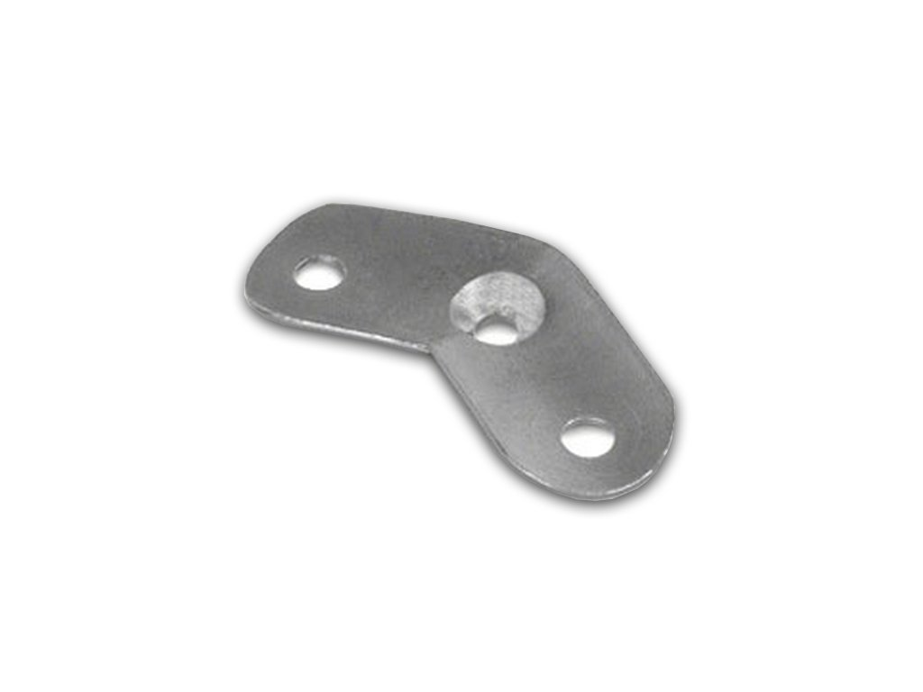 Rohová 135° montážní destička pro madlo pr.33.7 mm