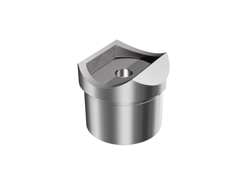 Adaptér pro montáž madla pr. 42,4 mm na sloupek pr. 42,4 mm