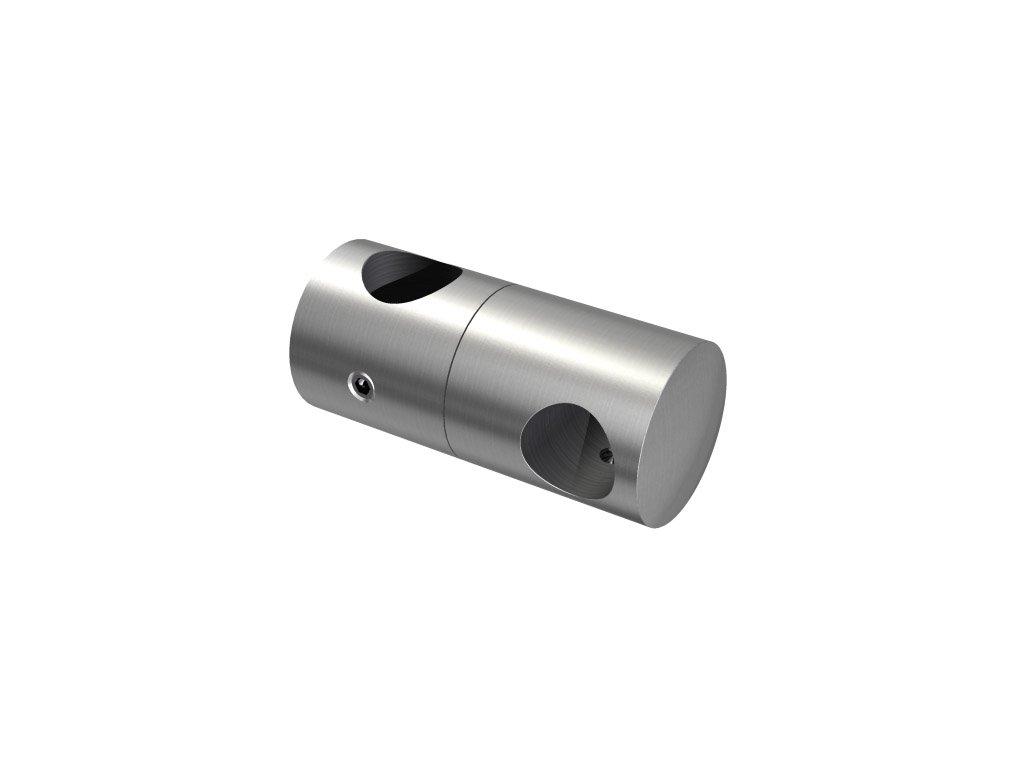 Nerezový držák svislé výplně pro tyč pr. 12/ pr. 16 mm, AISI 304