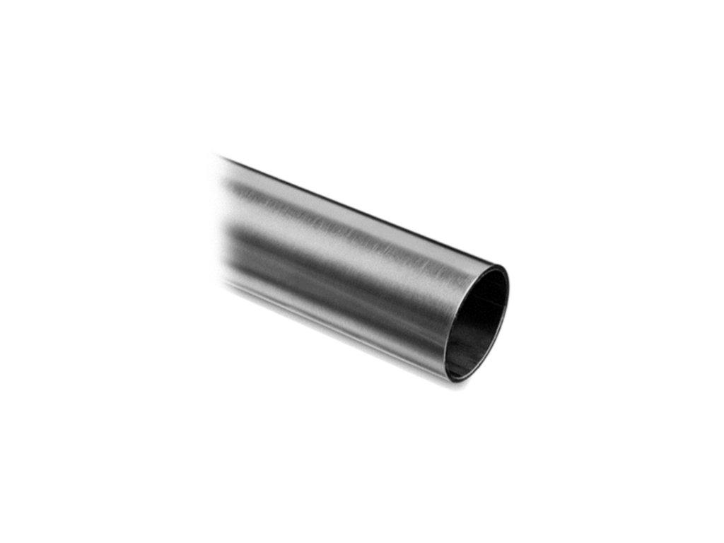 Nerezová trubka pr. 48,3 x 2,0 mm, délka 3000 mm, AISI 304