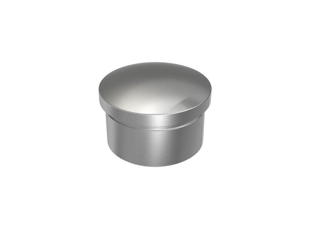 Vypouklá záslepka s dlouhým čepem pro trubku Ø33.7 x 2,0 mm, broušená