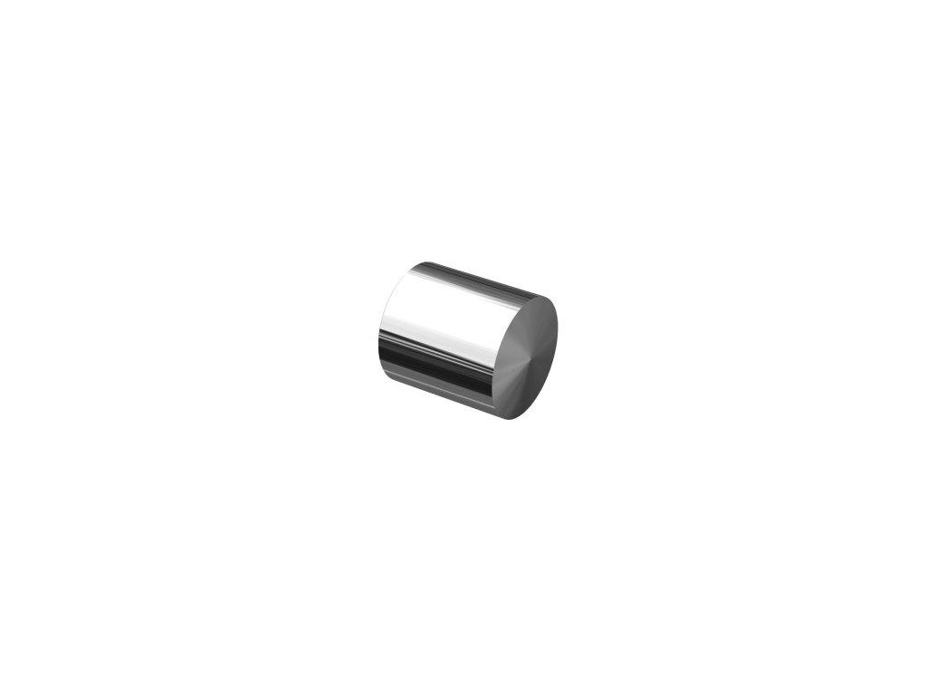 Vnější záslepka pro trubku Ø12 mm, leštěná