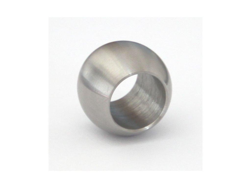 Koule - průběžná pro tyč Ø12 mm, broušená