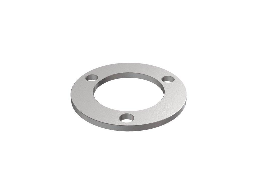 Montážní kroužek Ø70 x 4,0 mm pro sloupek 42,4 mm, surový