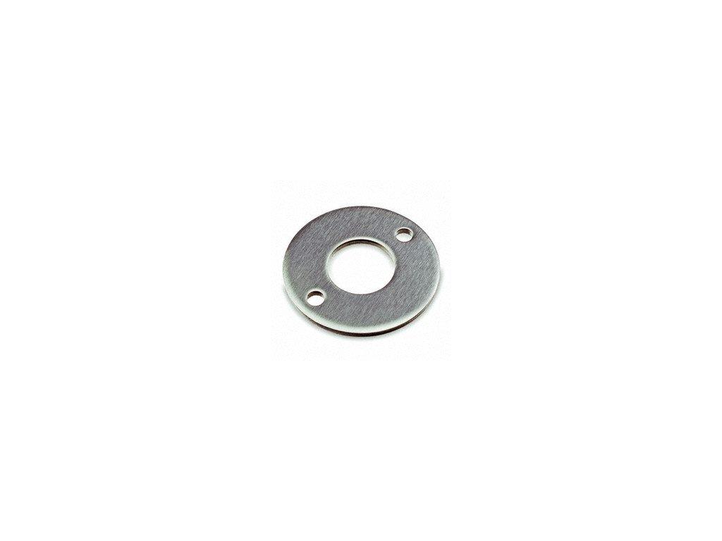 Montážní kroužek Ø120 x 6,0 mm pro sloupek 42,4 mm, brus