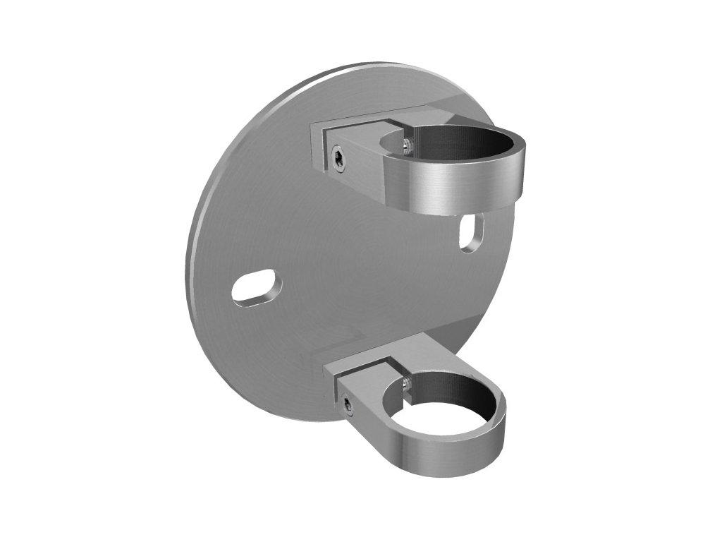 Boční kotvení sloupku Ø33,7 mm, brus