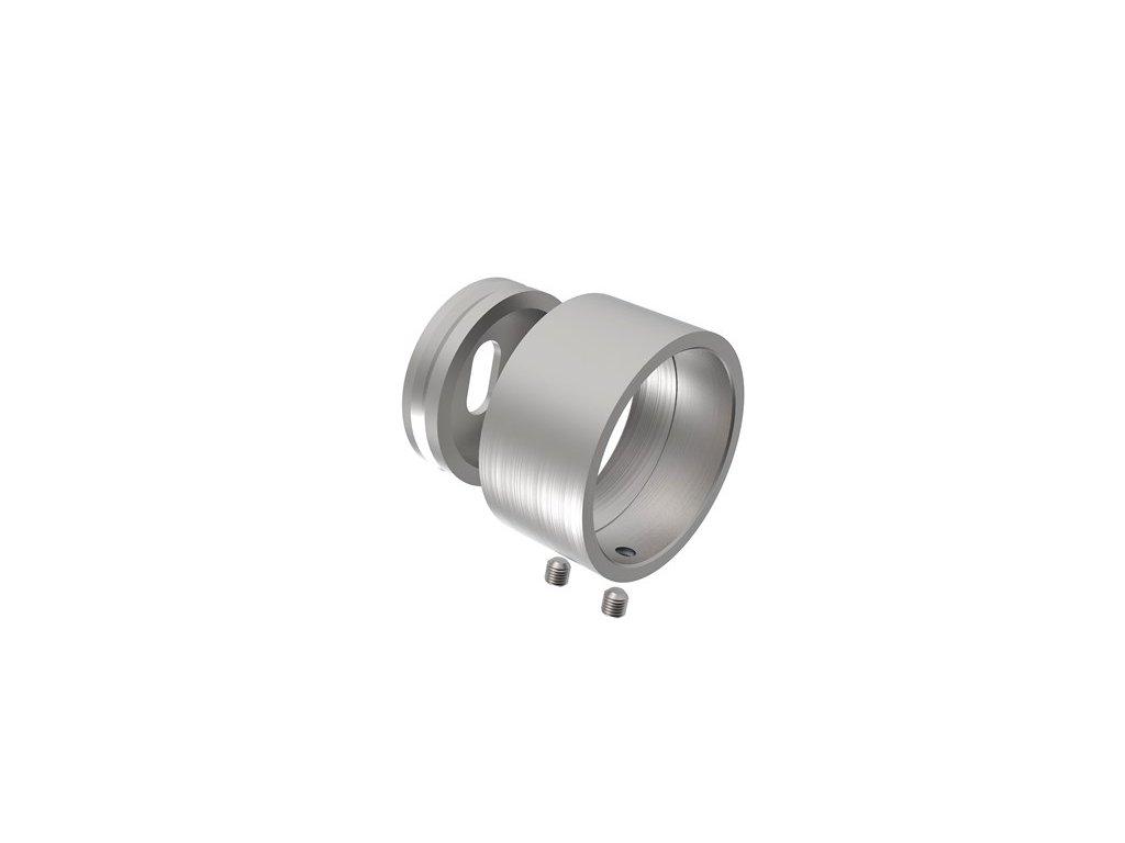 Kotvení zábradlí na zeď pro trubku 42,4 mm, AISI 304 (D4-13)