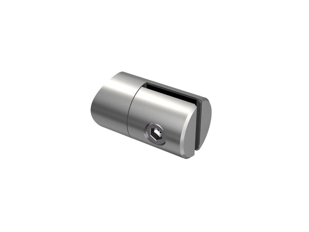Držák pro plech od 1,5 do 4 mm, pro sloupek Ø42,4 mm