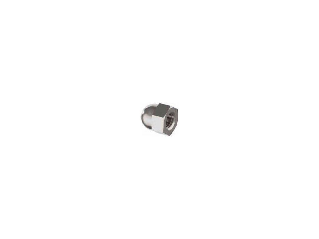 Kloboučková matice M8, AISI 304