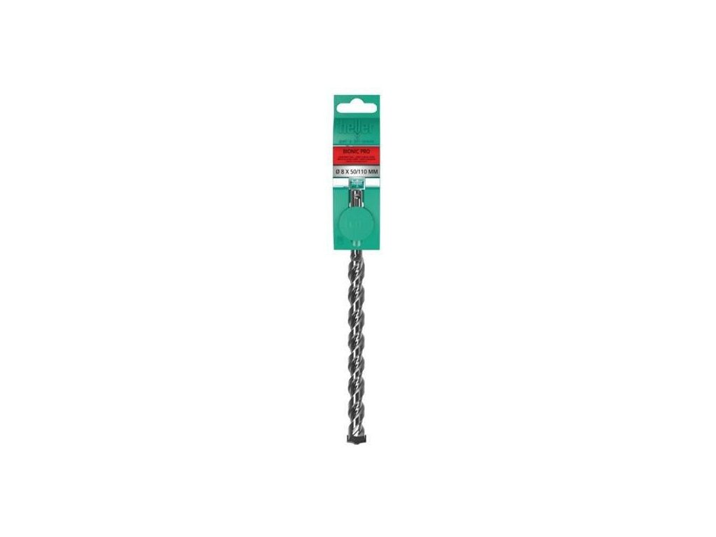 Úderový vrták pro vrtání do betonu 12 mm SDS + BIONIC