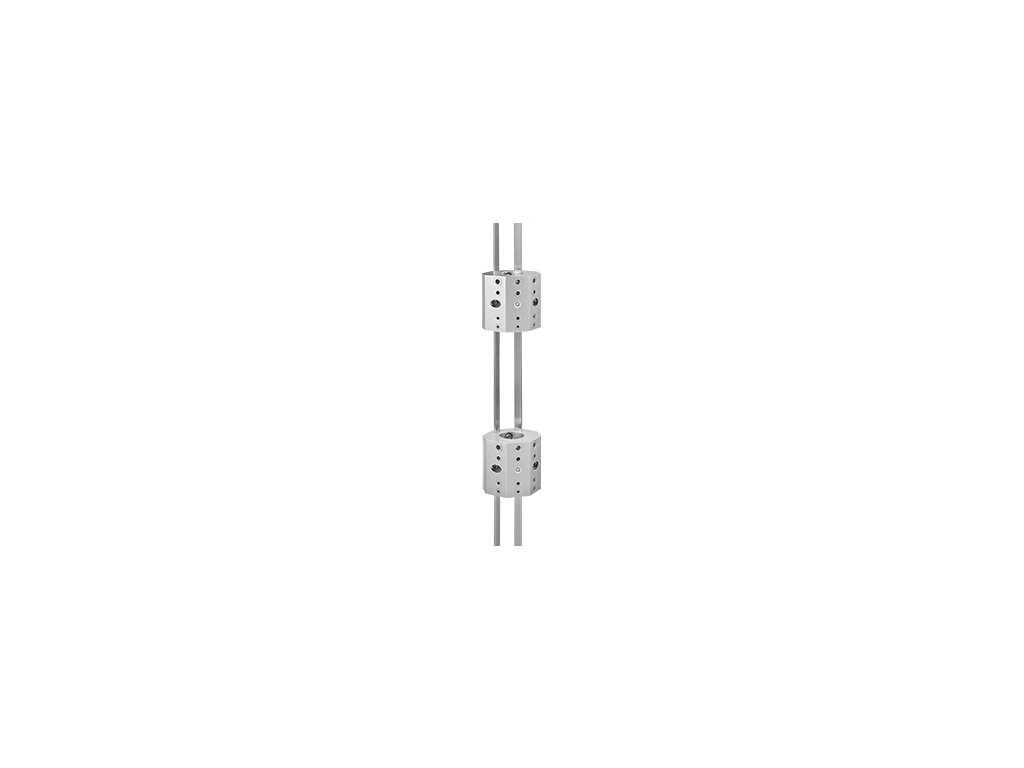 Set vrtacích šablon s vodící lištou pro trubky Ø48,3 mm