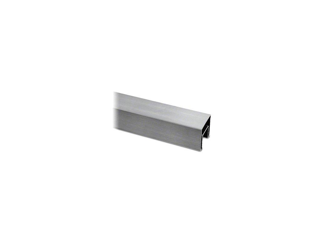 Čtvercové madlo 40 x 40 x 2500 mm, AISI 316