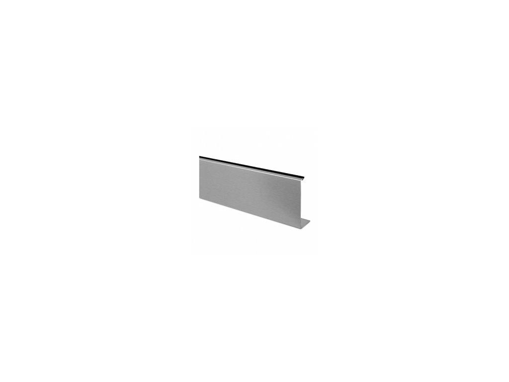 Verze B - přední kryt, délka 2500mm, hliník