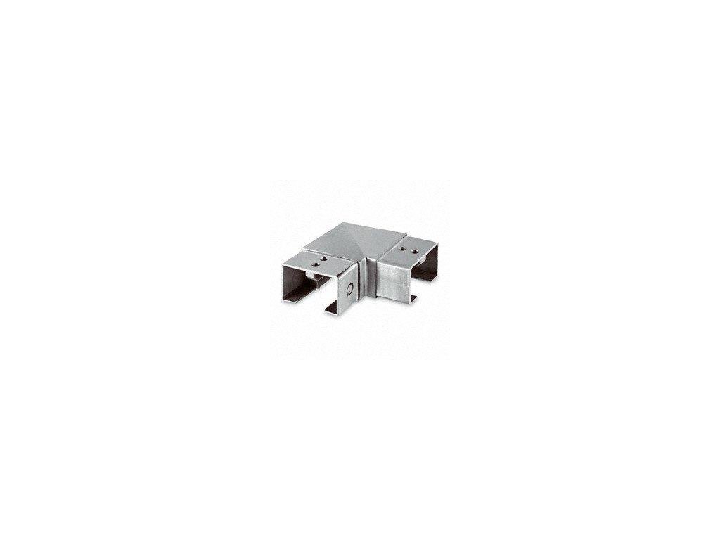 Rohový spoj 60 x 40 mm, AISI 304