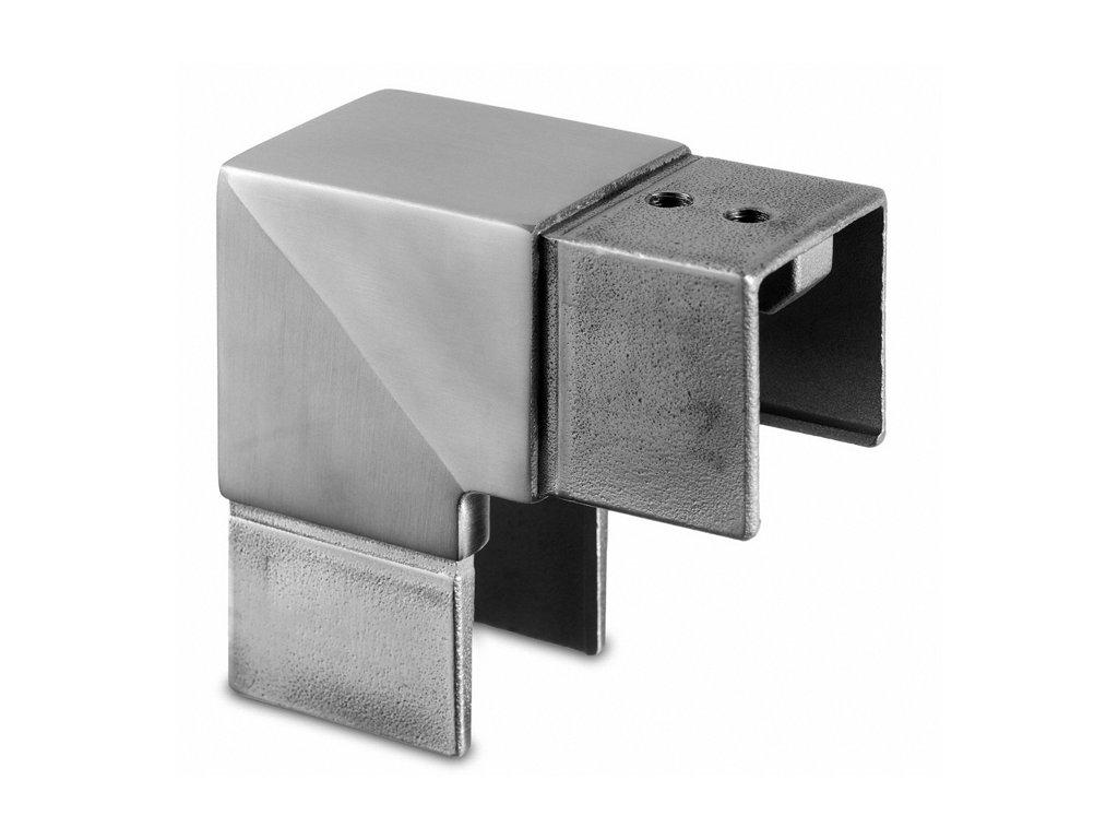 Rohový spoj 40 x 40 mm, AISI 316