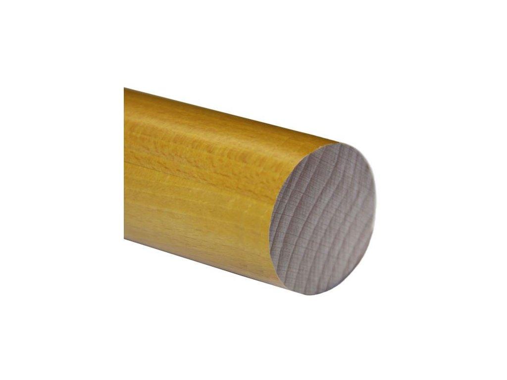 Madlo dřevěné - buk (lak) Ø42mm, 2500mm