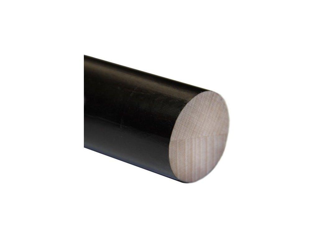 Madlo dřevěné - buk (lak) Ø48mm, 2500mm mořený