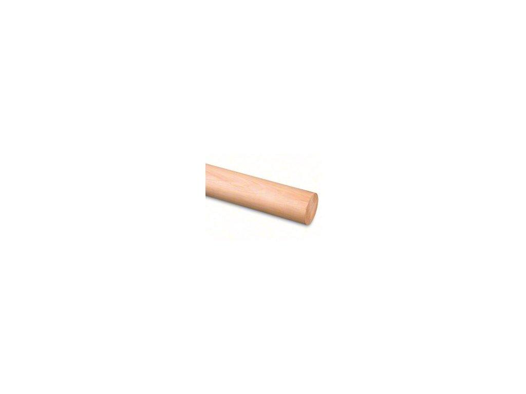 Madlo dřevěné - cedr (surové) Ø42mm, 2500mm
