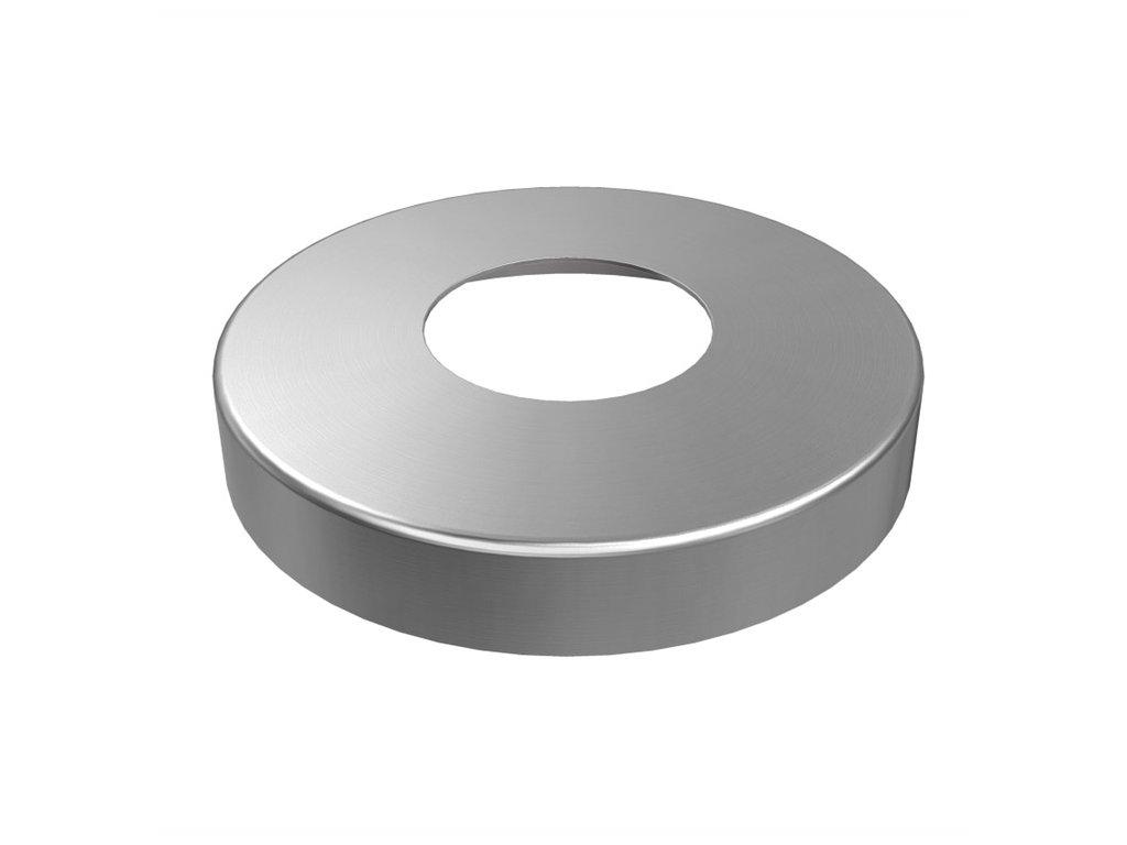 Krycí rozeta Ø105 mm pro sloupek Ø48,3 mm, AISI 316