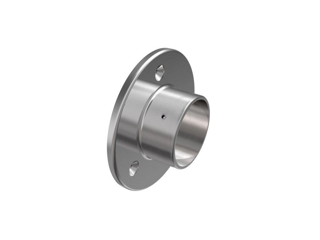 Nástěnná příruba pro trubku pr. 48,3 mm, nerez ocel AISI 304