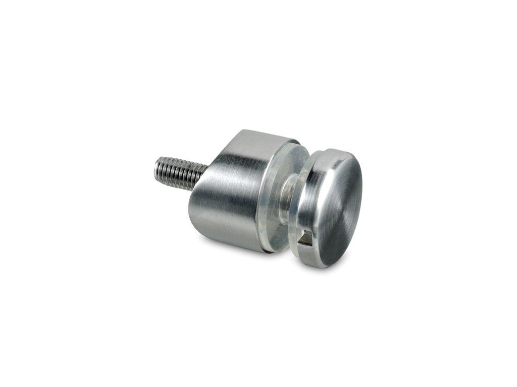 Nerez bodový držák skla pro sloupek pr. 33.7 mm