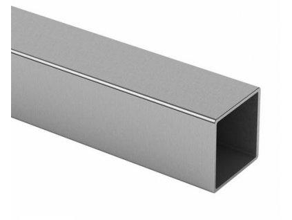 Profil 40x40x2.0mm, nerez - brus K320