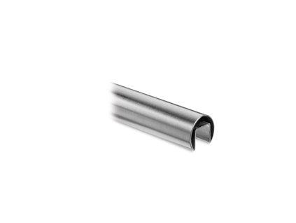 Nerezové madlo D42,4mm, pro samonosné zábradlí, L:2500mm
