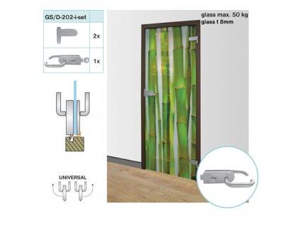 Kódování pro Skleněné dveře AISI 304,K320, glass t