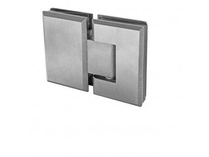 Závěs pro skleněné dveře sklo/sklo +/- 90stup. AIS