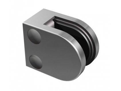 Nerezový držák skla 40x40x2/50x40mm pro profil
