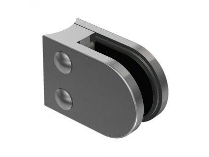 Nerez držák skla 63 x 45 mm pro sloupek D 42,4mm