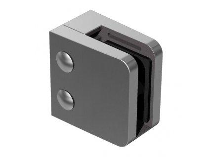 Nerez držák skla 55 x 65 mm, model 24 - pro profil