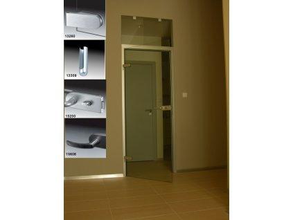 Set pro skleněné dveře Masca