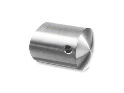 Průchodka pro lanko Ø3,2 mm pro sloupek pr. 42,4mm AISI 316, lesk